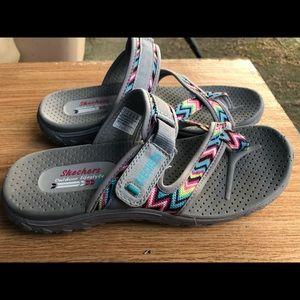 Skechers Shoes - Skechers Reggae-Zig Swag Sway Flip Flops Sandals